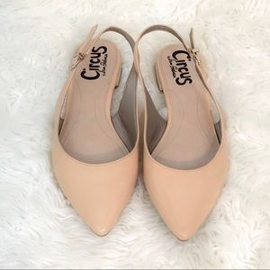 Circus by Sam Edelman Hillary Nude Flats